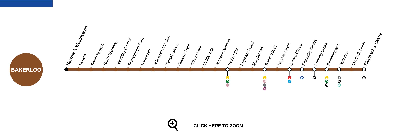london bakerloo line map