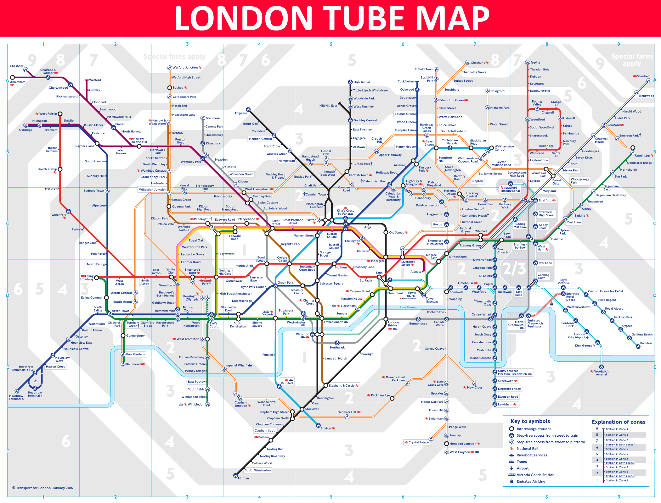 london tube map source tflgovuk