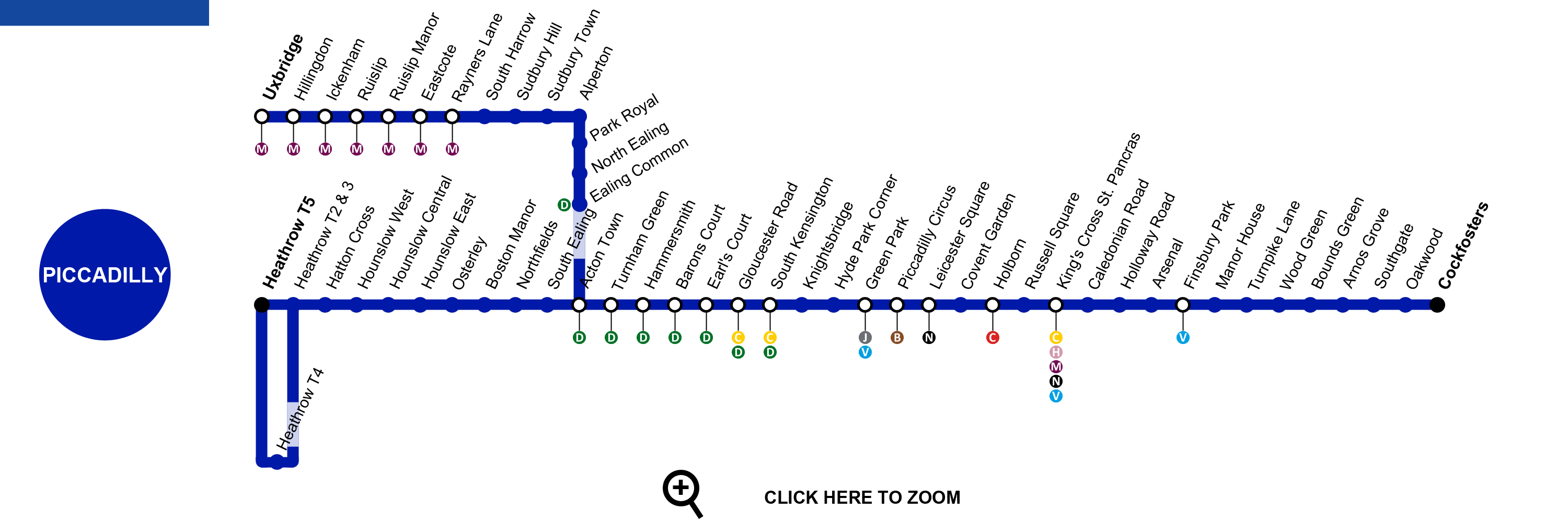 london piccadilly line map
