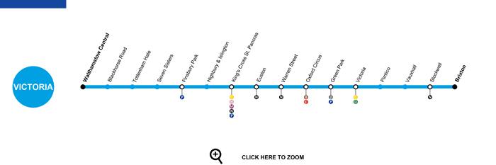 victoria line map
