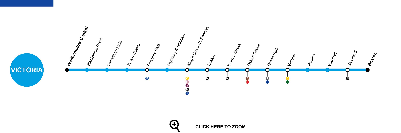 Victoria Line Map Victoria Line London   Map, Timetable, Service Status, Tourist Info Victoria Line Map